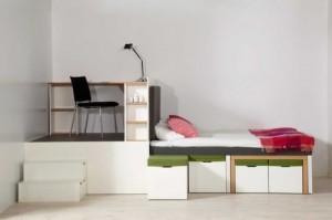 modernus baldai